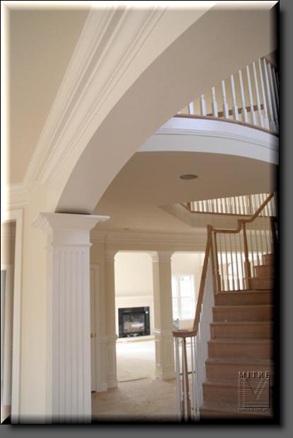 Columns & Pediment