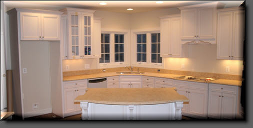 Custom Kitchen Cabinetry Install