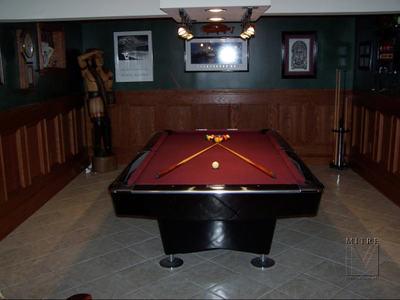 Game Room Oak Wainscot