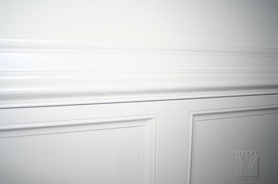 Close-Up of Wainscoting