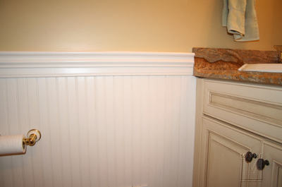 Powder Room Beadboard