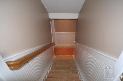 Stairway Beadboard Wainscot