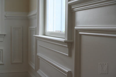 Wainscoting Mitre Contracting Inc