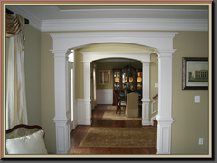 Custom Arched Openings